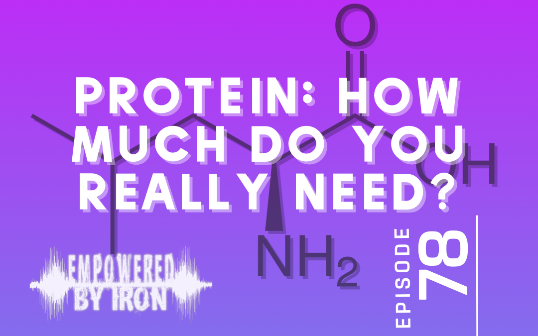 Protein: How Much Do You Really Need? – Episode 78