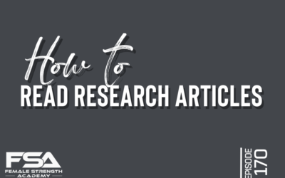 How to Read Research Articles – Episode 170