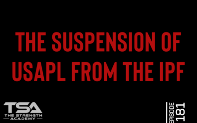 The Suspension of USAPL from the IPF – Episode 181